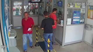 Assalto a loterica em Minas Gerais
