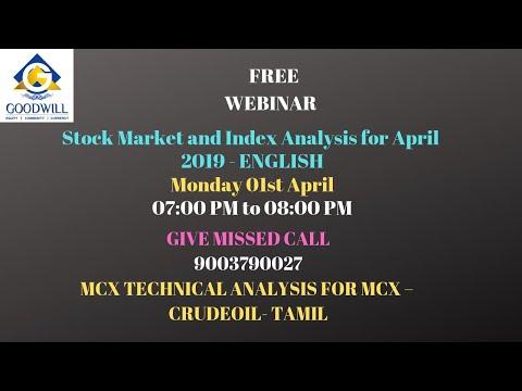MCX CRUDE OIL TRADING TECHNICAL ANALYSIS APRIL 01 2019 TAMIL CHENNAI TAMIL NADU INDIA