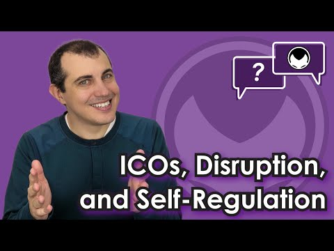 Ethereum Q&A: ICOs, Disruption, and Self-regulation