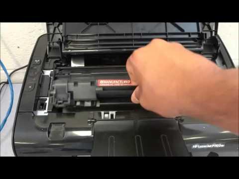 HP LaserJet Pro P1102W Standard Wireless Laser Printer P1102