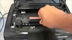 How To Replace The Toner Cartridge On An HP LaserJet Printer (P1102w)