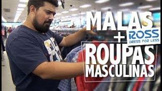 MALAS + Roupas MASCULINAS na ROSS DRESS FOR LESS