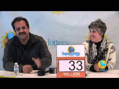 Laid-off Worker Wins $33 Million SuperLotto Plus Jackpot! - California Lottery