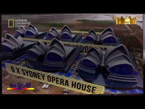 Mega Structure solar power house in India documentary