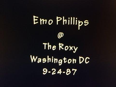Emo Phillips @ The Roxy - Wash DC 9-24-87