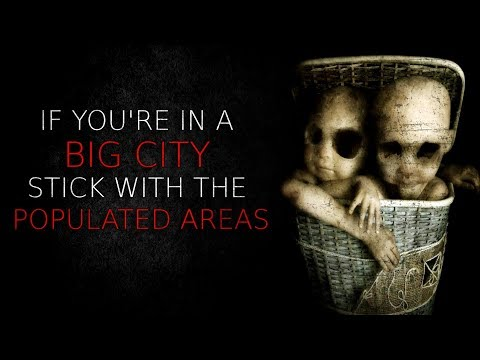 """""""If You're In a Big City, Stick With The Populated Areas"""" Creepypasta"""