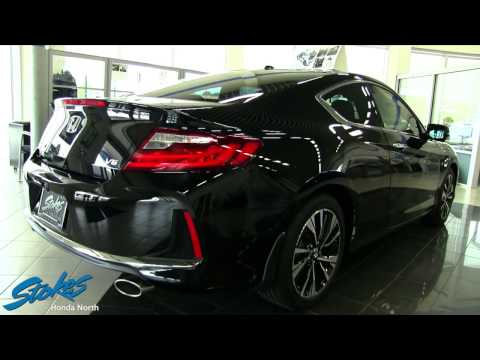 Sexy Black 2016 Honda Accord Coupe - For Sale Walkaround Review | Charleston Cars For Sale