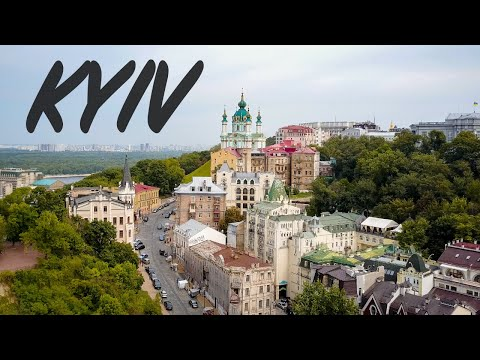 EXPLORING KYIV – Most Beautiful City in Ukraine (Kyiv drone footage)