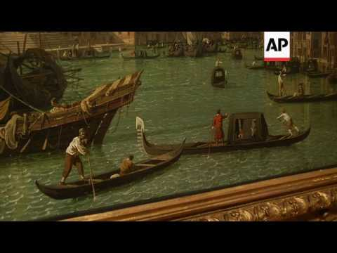 Postcards from Venice: Canaletto  paintings on show in London
