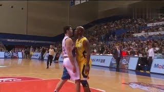 NBA Players Jimmer Fredette and Stephon Marbury fight in China