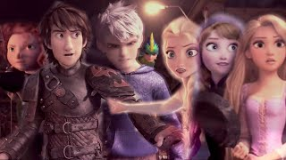 Rise of the Brave Tangled Frozen Dragons || Cartoon Heroes [MV] Mp3
