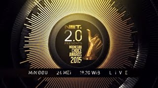 MASHUP NET 2.0 PRESENT INDONESIAN CHOICE AWARDS 2015