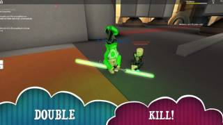 the fight against the Darkside | Roblox STAR WARS TEMPLE ON CORUSCANT