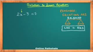 Ch02_01 Linear Equations in One Variable CBSE MATHS