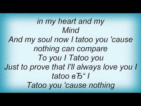 18922 Preluders - I Tattoo You Lyrics