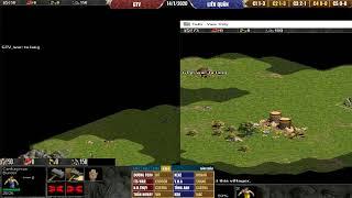 AOE 4vs4 Random GTV vs Liên Quân ngày 14/01/2020    Caster Huỳnh Phúc Thái