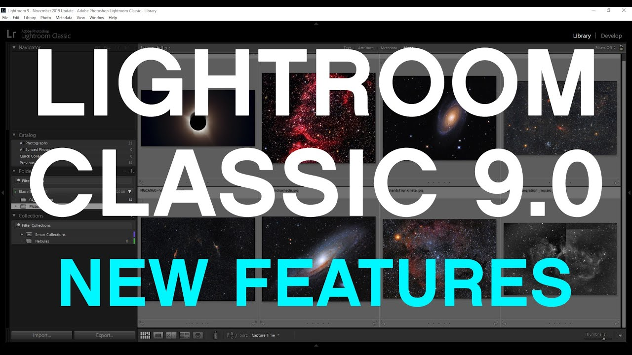 Lightroom Classic 9.0 Update (November 2019) – What's NEW!