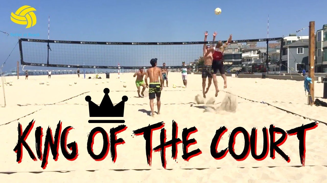 Men S Beach Volleyball Practice In Hermosa Beach California King Of The Court Youtube