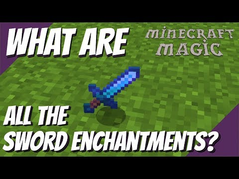 Minecraft Magic: What Enchantments Can Go on a Sword in Minecraft - Minecraft GOD Sword (Avomance)