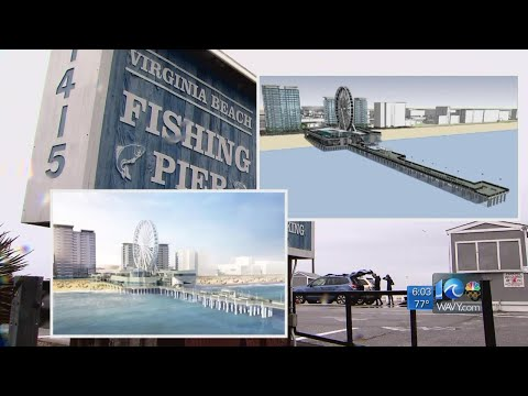 Va. Beach city auditor reviewing bids for proposed Oceanfront pier lease