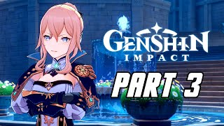 Genshin Impact - Gameplay Walkthrough Part 3 (Male, No Commentary, PS4 PRO)