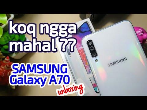 Nggak Mahal - Samsung Galaxy A70 Unboxing