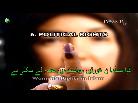 Zakir Naik 2017 political rights of women Islamic research foundation peace tv live youtube