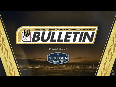 Training Camp Bulletin presented by NextGen 1/4