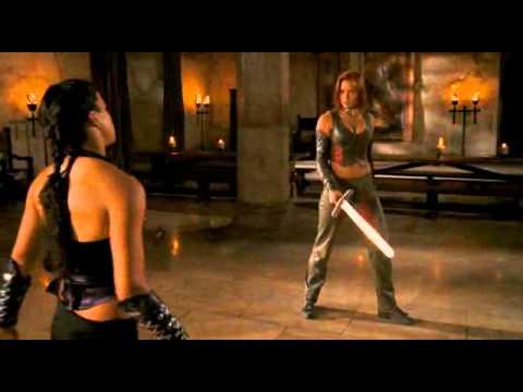 Michelle Rodriguez & Kristanna Loken  Fight & Death s