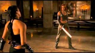 "Michelle Rodriguez & Kristanna Loken - Fight & Death Scenes ""Bloodrayne"""