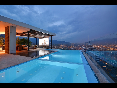 Luxury Penthouse Apartment in Medellin Real Estate Video