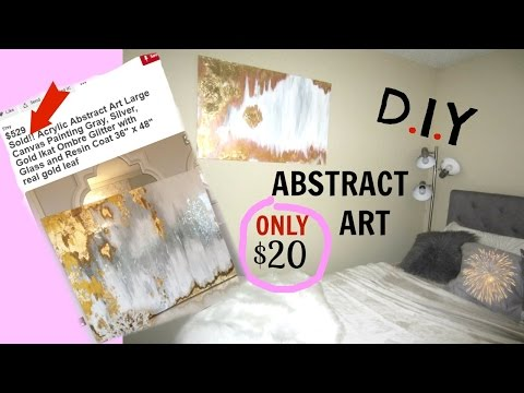 DIY~ Abstract Art! EASY