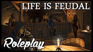 Life Is Feudal: Your Own РП сервер: Начало строительства сада. #2 Часть