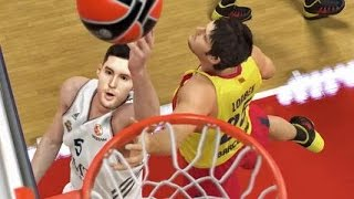 NBA 2K15 - Euroleague NEW Gameplay