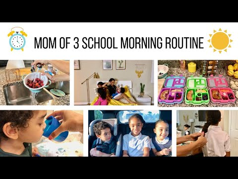 OUR SCHOOL MORNING ROUTINE // MOM OF 3 SCHOOL MORNING ROUTINE // Jessica Tull