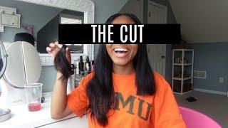 WATCH ME CUT MY HAIR | Part 2