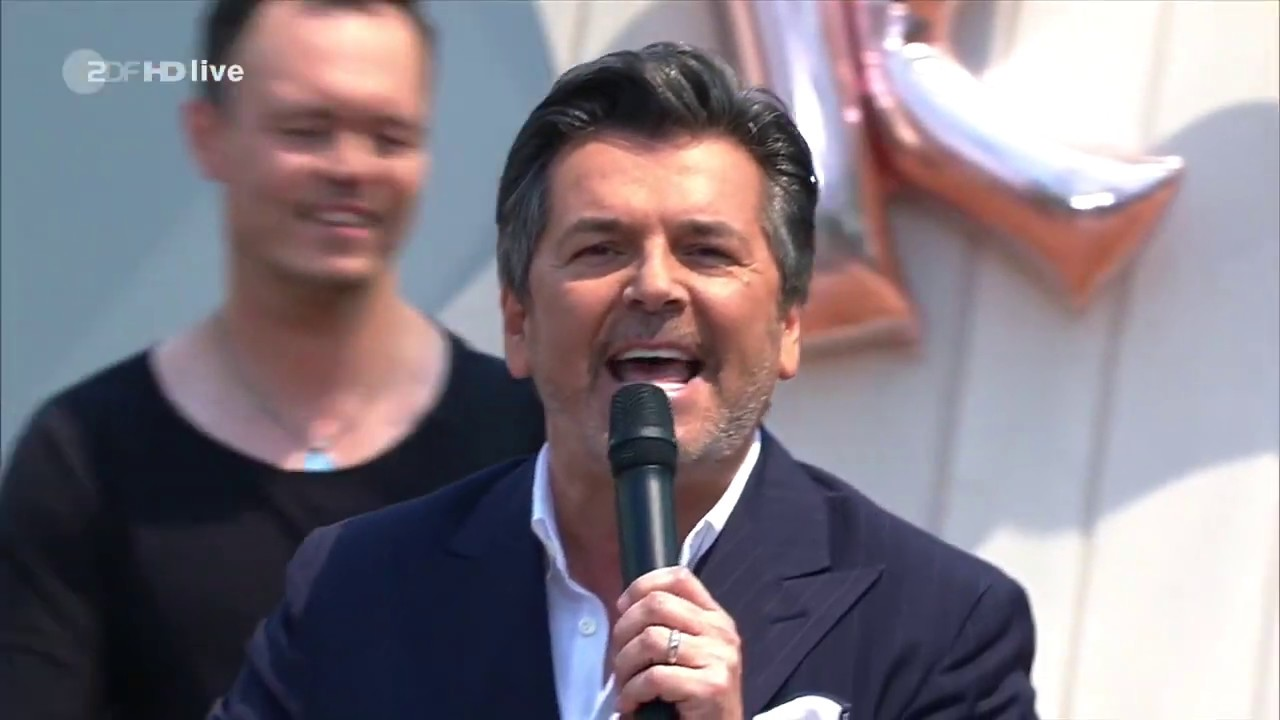 Thomas Anders 2019 Live Hit Medley Of Modern Talking Youtube