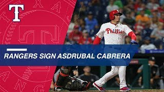 Asdrubal Cabrera signs with Rangers