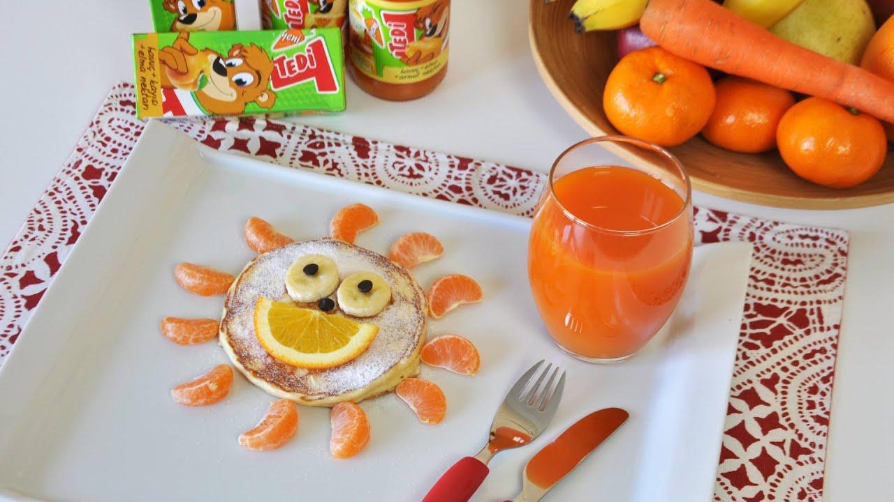 Tedi ile Yaratıcı Kahvaltılar - Pankek Tarifi - YouTube