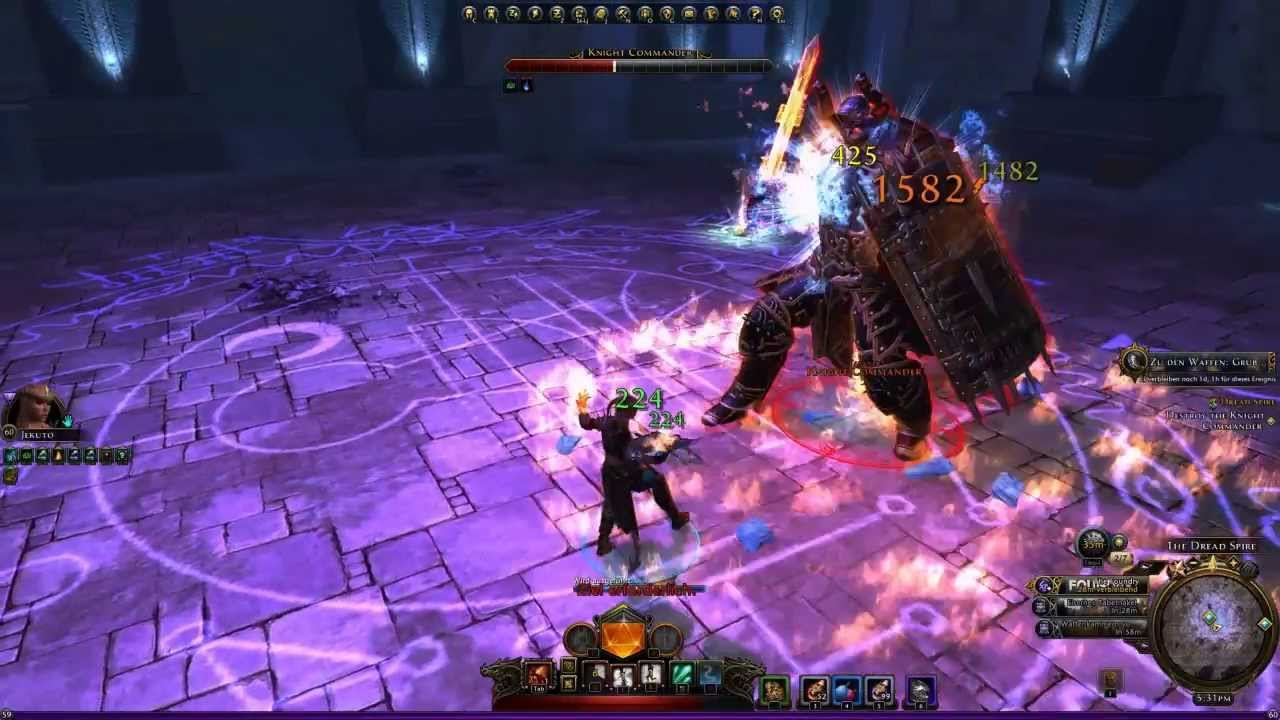 Neverwinter PvP Wizard Lvl60 Master of Flame 1v1 Parts!! [HD+]