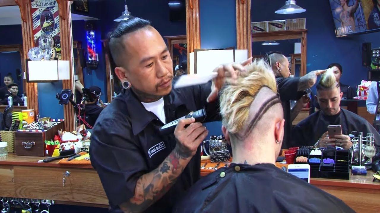 [Barbershop VU TRI] – TATTOO HAIR by TRI TAM QUOC