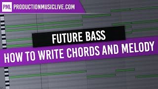 How to write Future Bass Chords and Melody from Scratch (Flume, San Holo, Chainsmokers, Odesza)