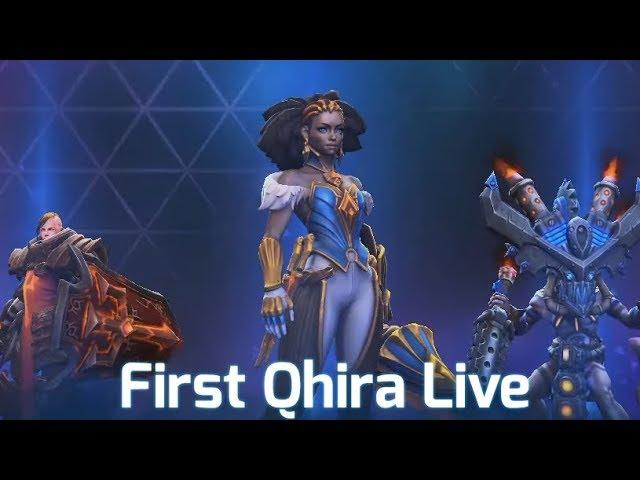 First Qhira Live Game - Livestream