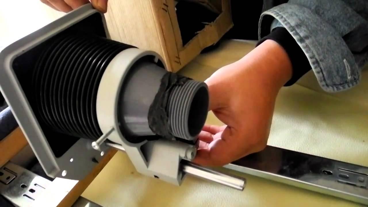DIY Large format camera - YouTube
