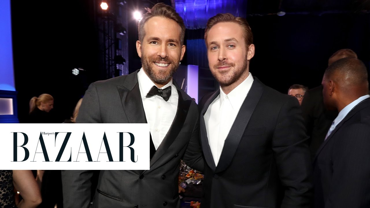 ryan gosling and ryan reynolds met at the critics choice awards youtube. Black Bedroom Furniture Sets. Home Design Ideas