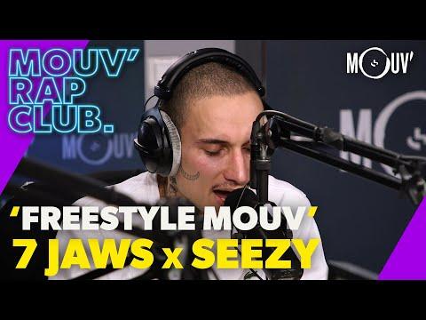 Youtube: 7 JAWS & SEEZY:«Freestyle Mouv'» (Live @Mouv' Rap Club)