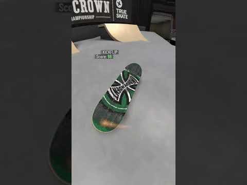 True skate - Varial heel bs feeble + 360 flip fs lipslide