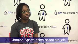 Champs Sports Interview - Sales Associate