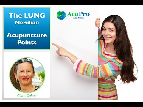 The LUNG Meridian Acupuncture Points