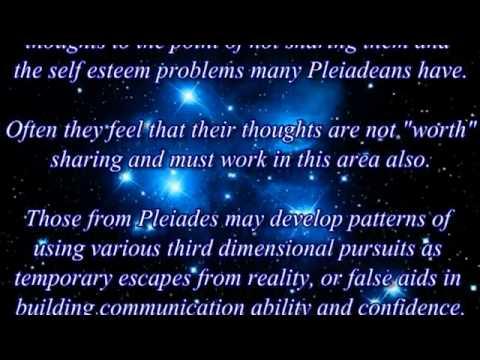 Characteristics of the Pleiadeans
